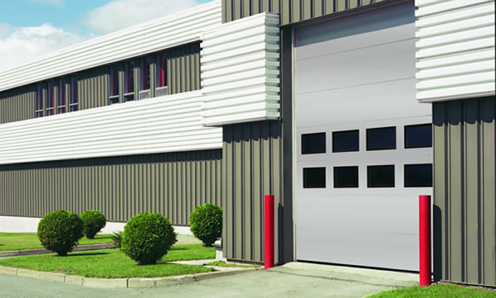 we offer same day service on commercial garage door repair