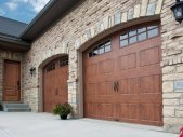 Rustic Wood Garage Doors