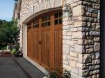 Rustic Faux Wood Garage Doors